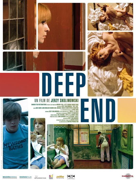 Etienne Daho - Deep End - Affiche
