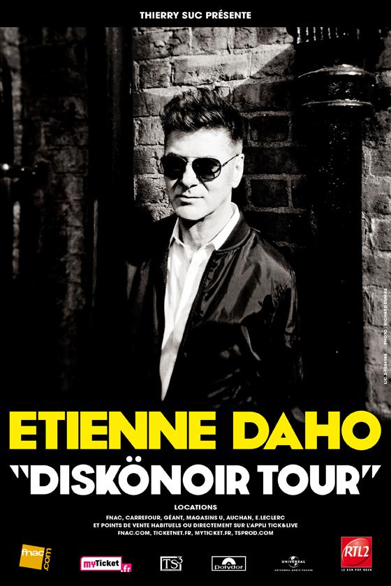 Diskonoir Tour, l'affiche